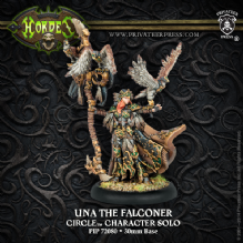 Una The Falconer Circle Orboros Character Solo